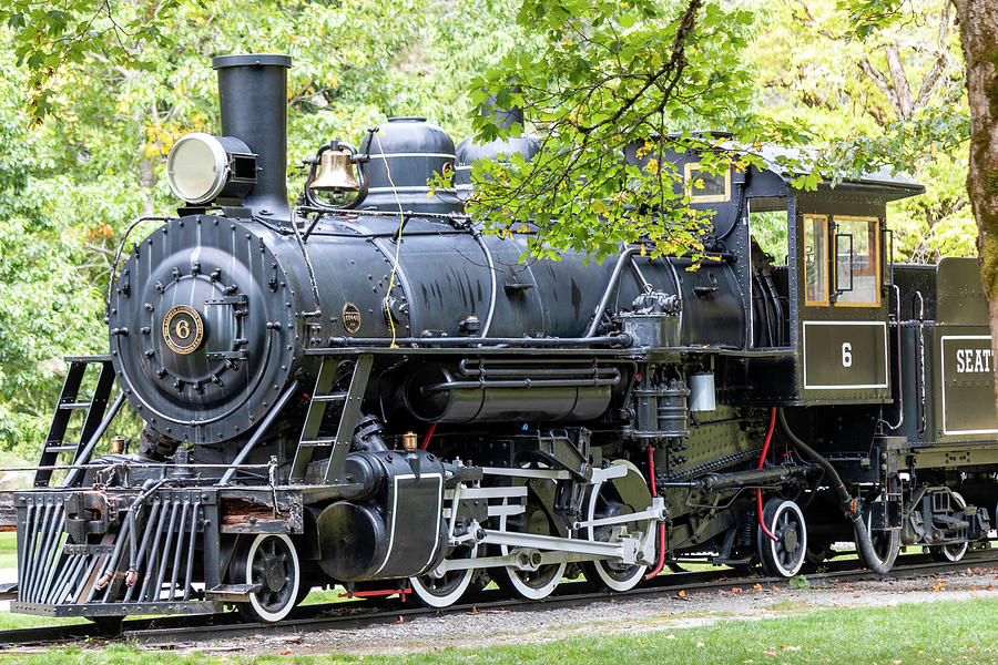 Seattle Locomotive  by Cathy Anderson