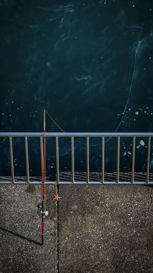 Seawall Fishing by William Chizek