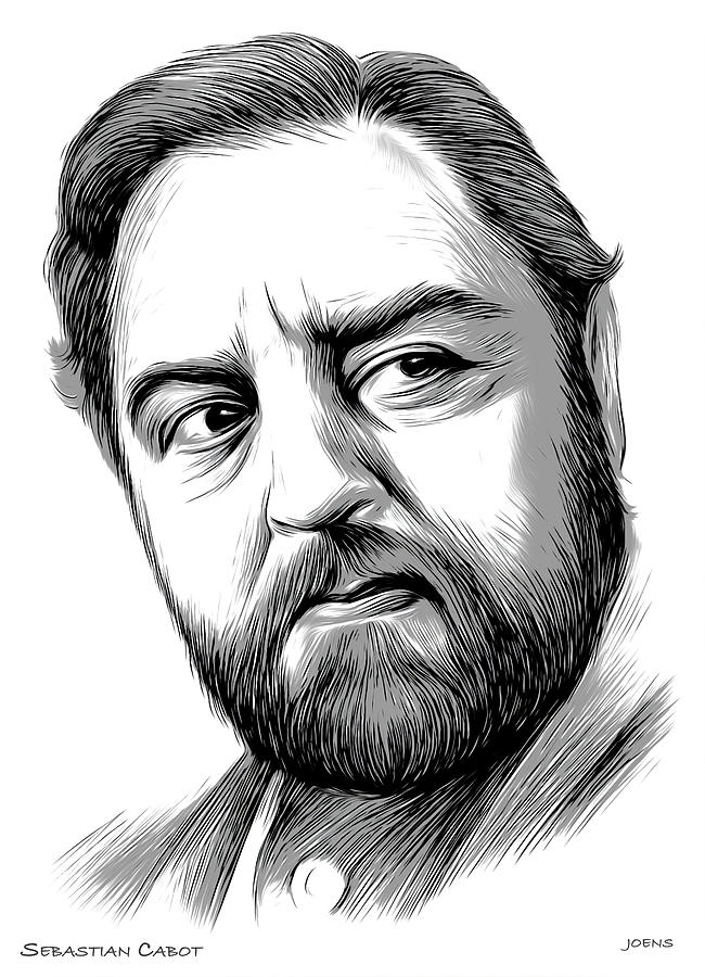 Sebastian Cabot Digital Art