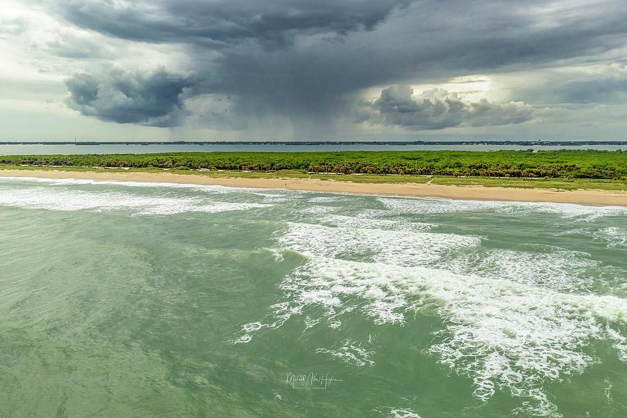 Sebastian Inlet Beach A1A by Michael Hughes