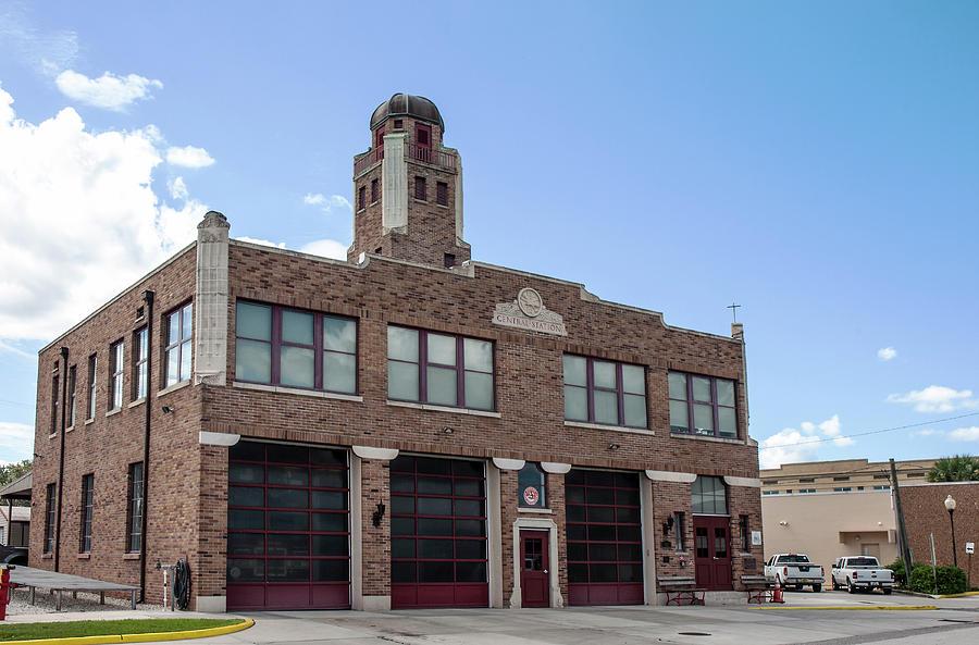 Sebring Fire Station Photograph