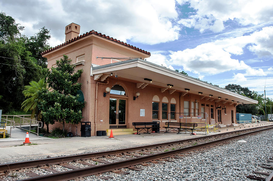 Sebring Seaboard Air Line Depot Photograph