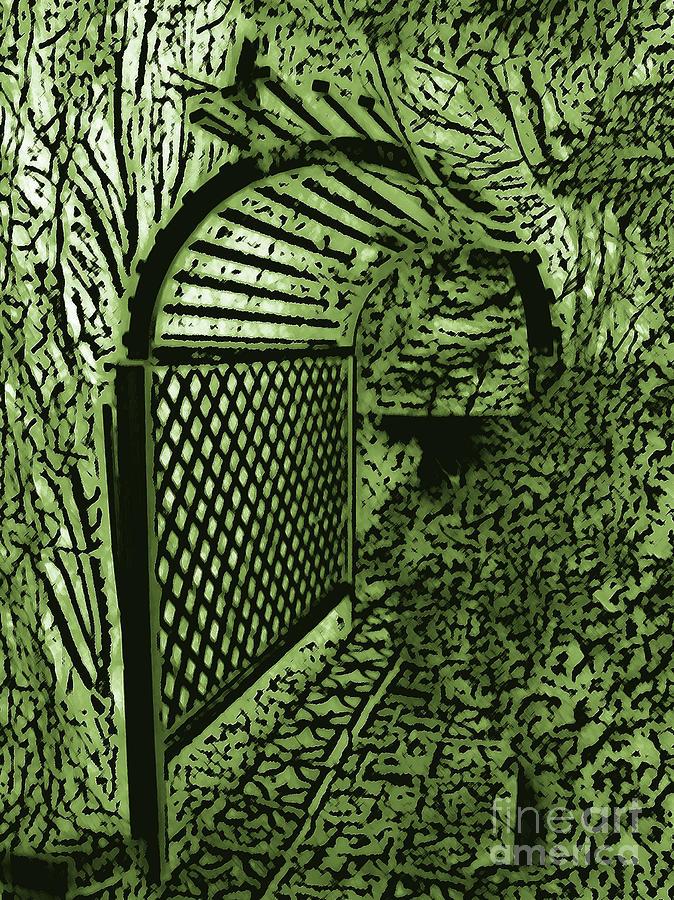 Secret Garden Archway Digital Art
