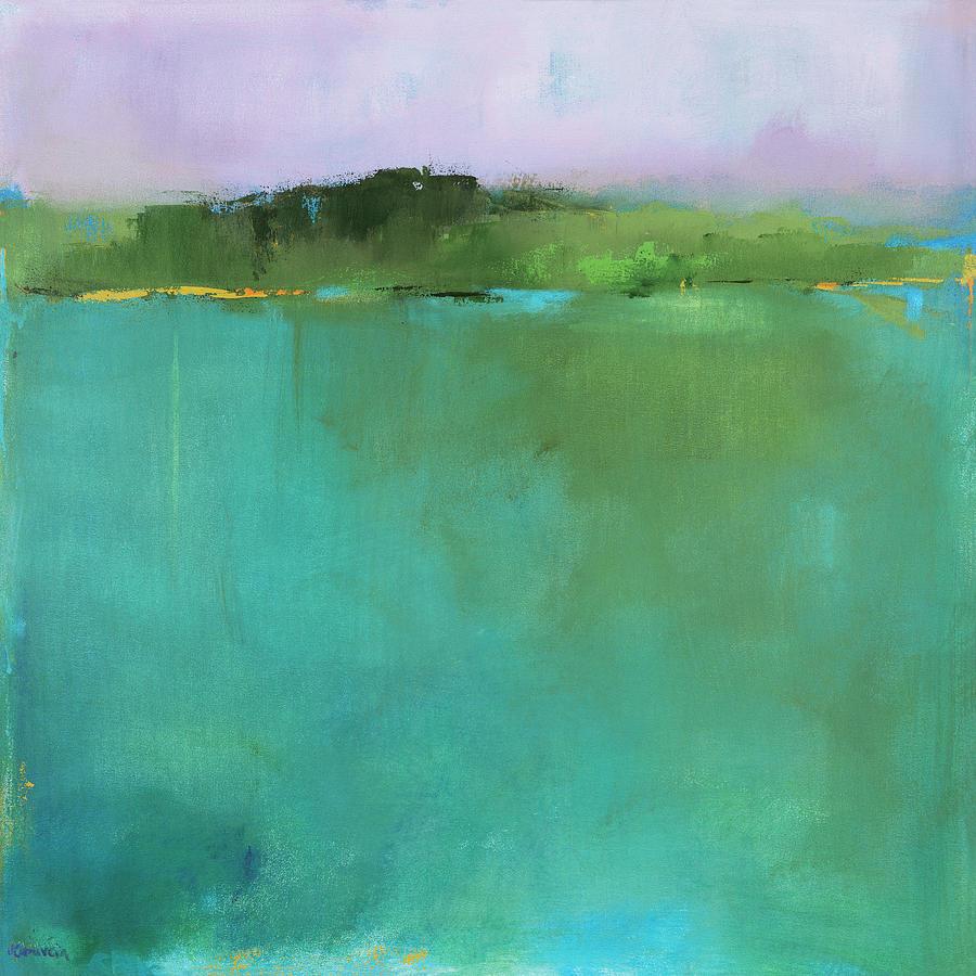 Vermont Painting - Secret Vermont Oasis by Jacquie Gouveia