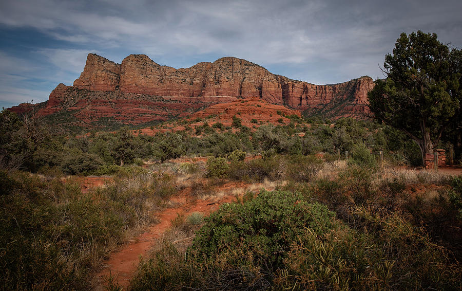 Sedona Mountains by Hershey Art Images