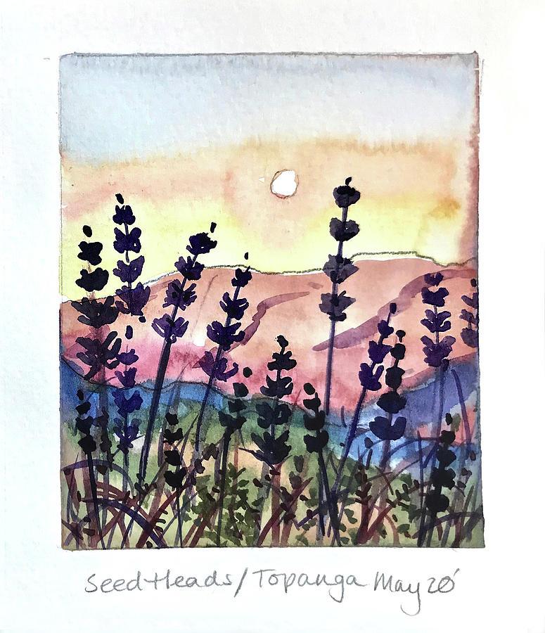 Seed Heads On Topanga Painting