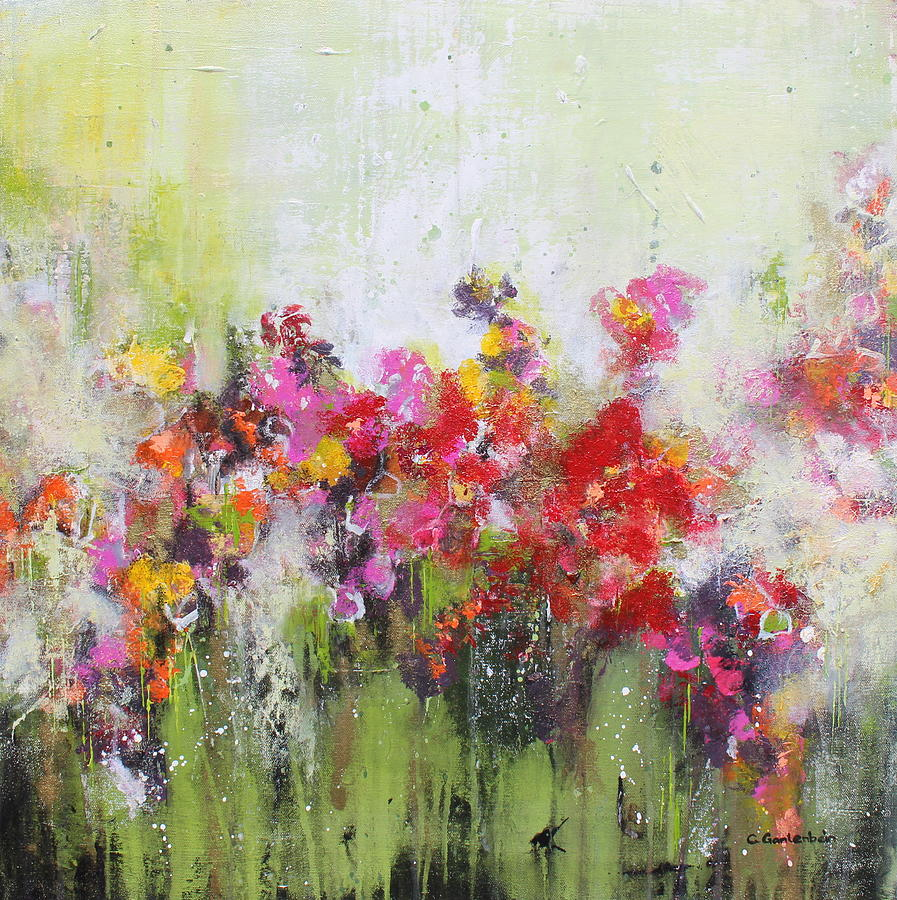 Flowers Mixed Media - Seeds of love by Claudia Gantenbein