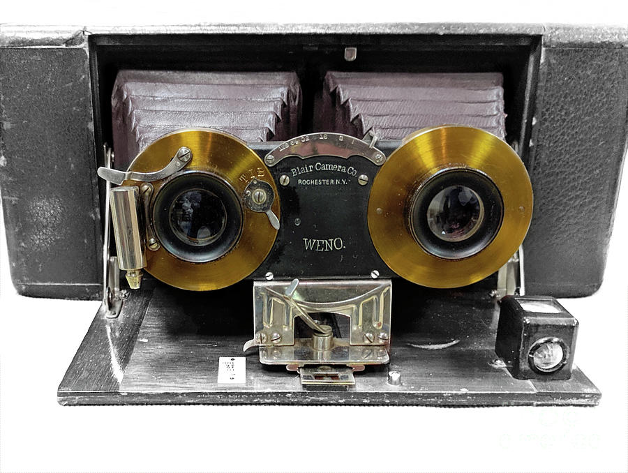 Stereo Cameras Photograph - Seeing In Stereo  by Steven Digman