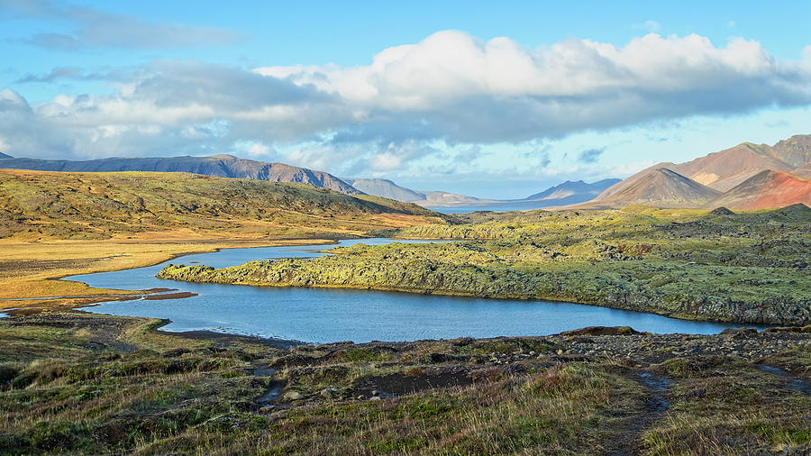 Selvallavatn by Catherine Reading