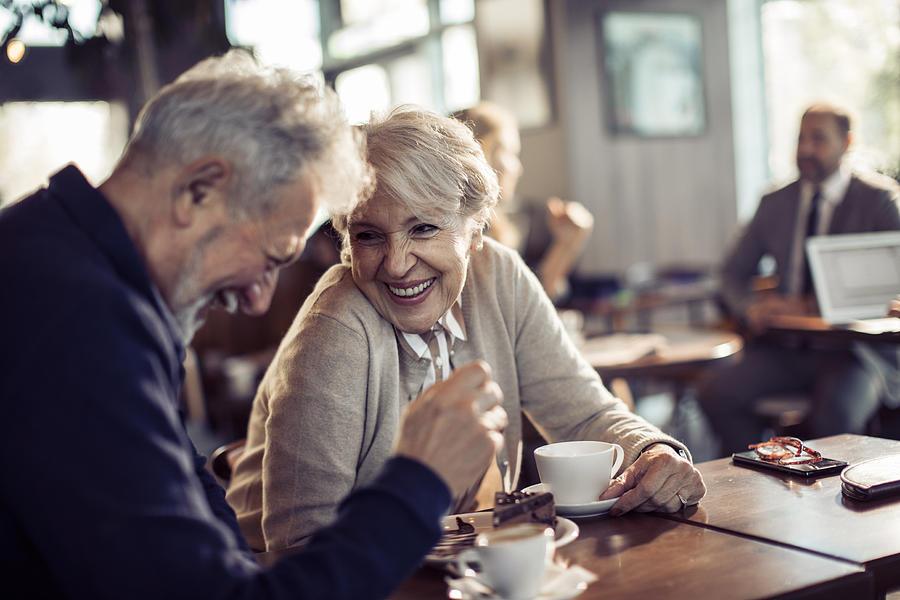 Senior Couple Photograph by vorDa