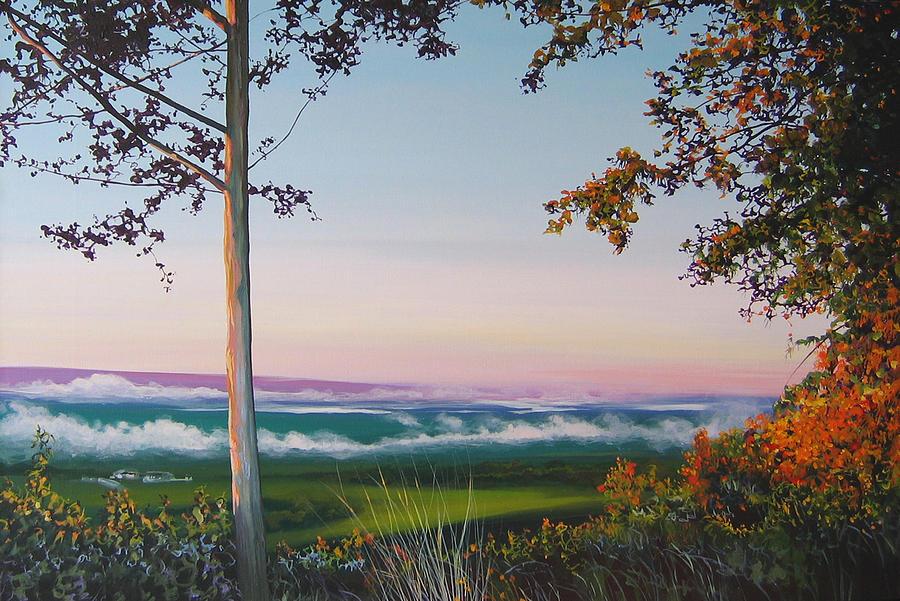 Landscape Painting - September Sky by Hunter Jay