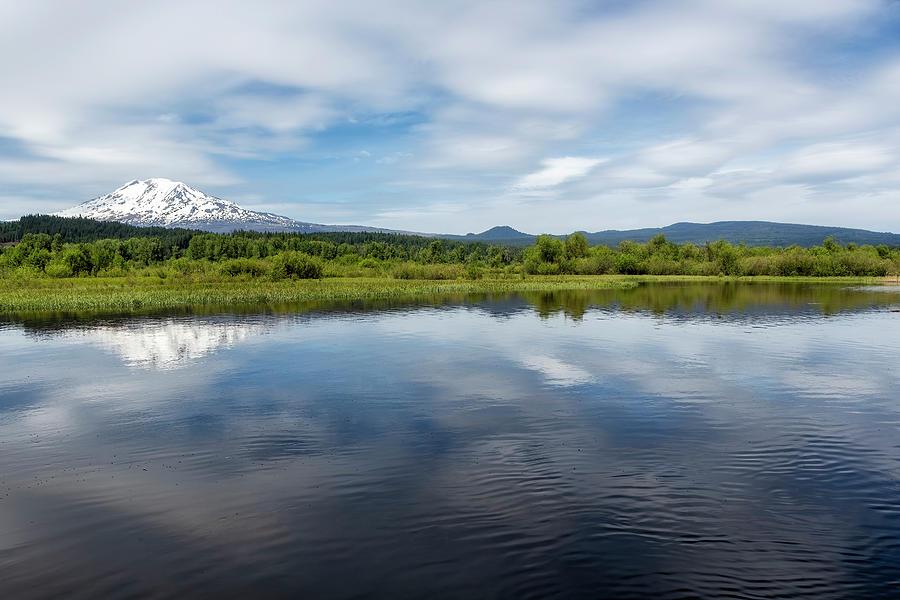 Serenity At Mount Adams Photograph