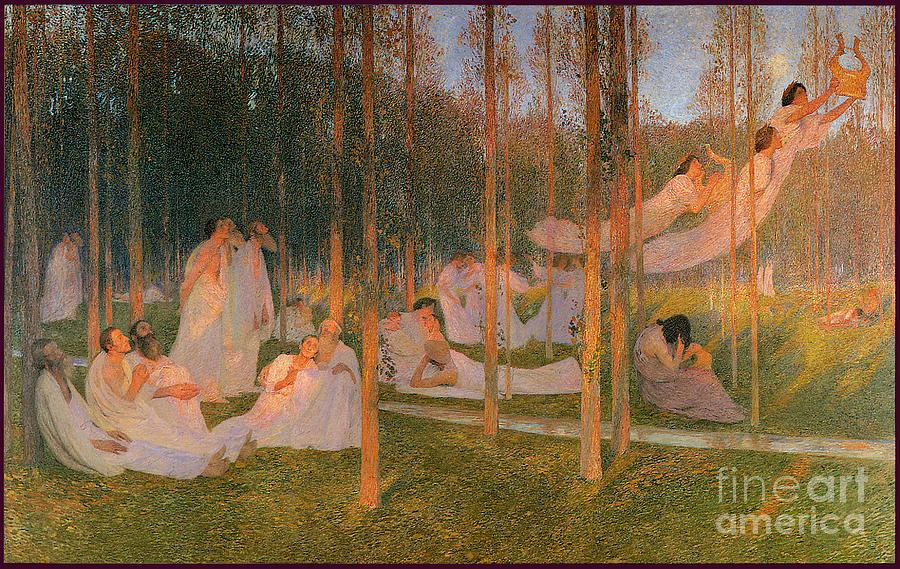 Serenity Vergil The Aeneid Book 4 1899 Painting
