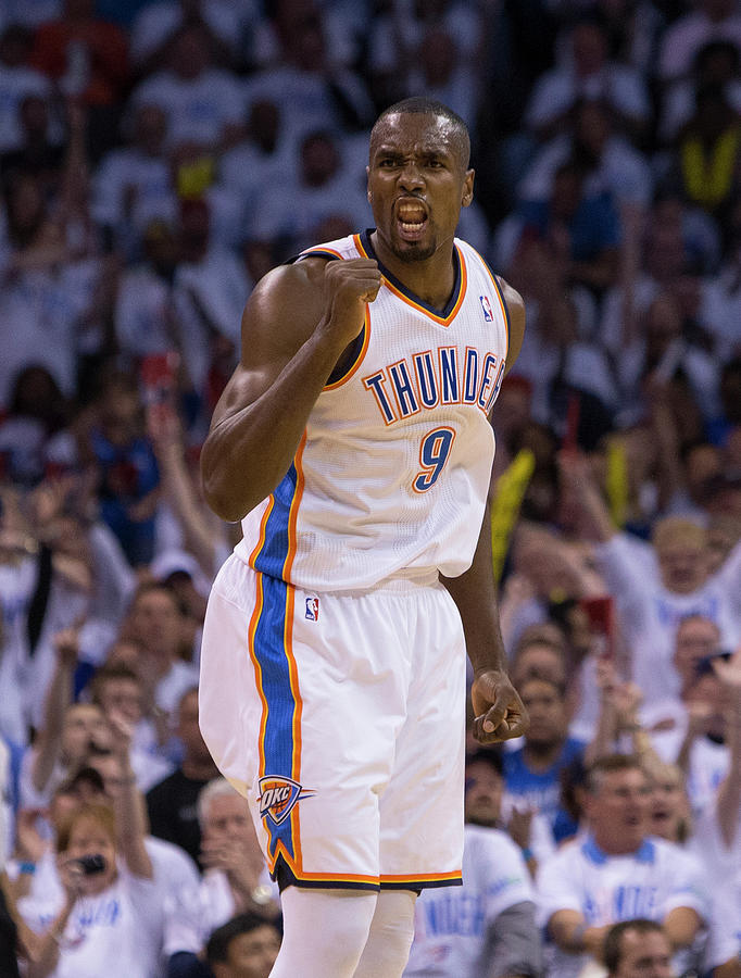 Serge Ibaka Photograph by Richard Rowe