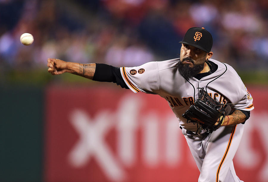Sergio Romo Photograph by Drew Hallowell