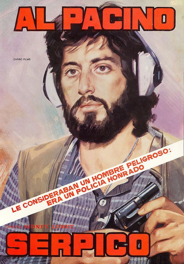 serpico, 1973 Mixed Media