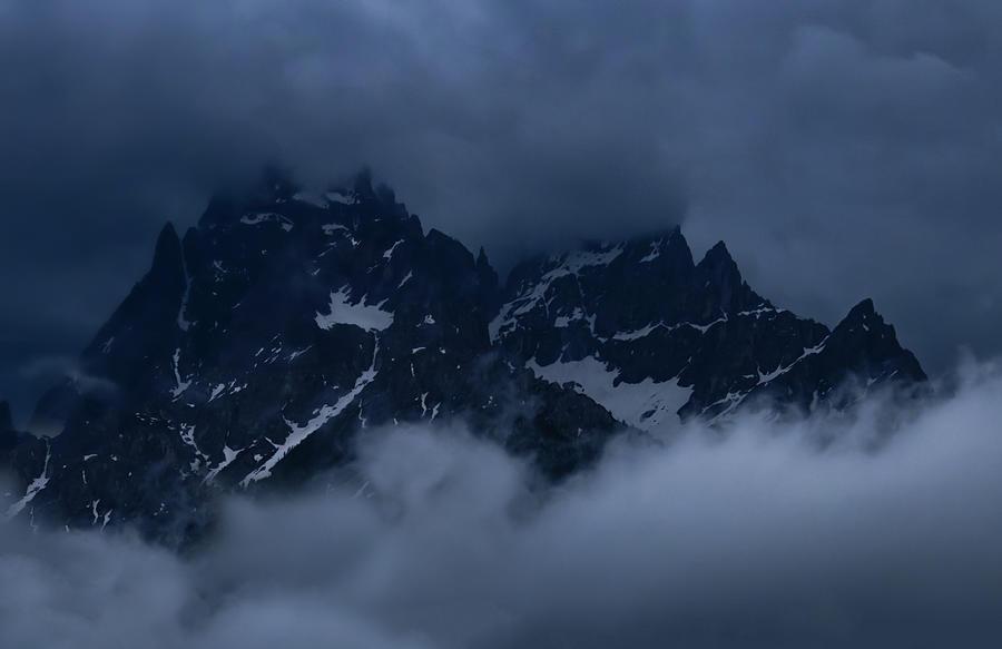 Sesto Mountain Pass Photograph
