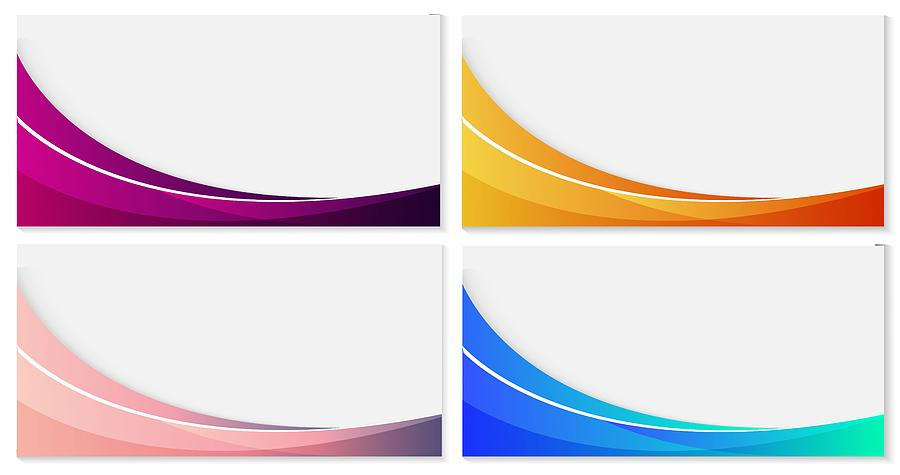 Set of Abstract Business Template Background . Abstract design template for brochures, flyers, magazine, business card, branding, banners, headers, book covers, notebooks background vector Drawing by Ajwad Creative