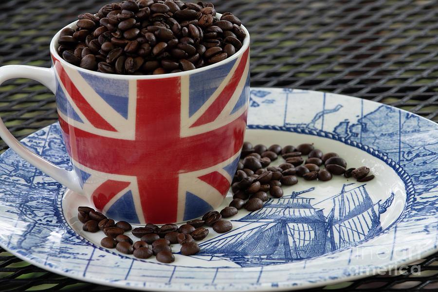 Set Sail With Union Jack Coffee Photograph