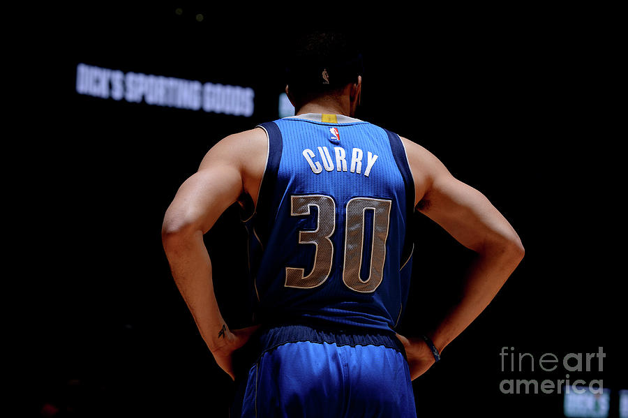 Seth Curry Photograph by Bart Young