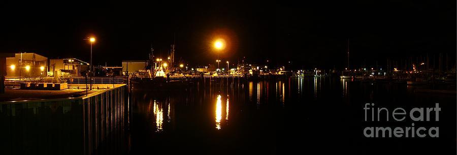 Seward Docks At Night Photograph by Ross Coleman
