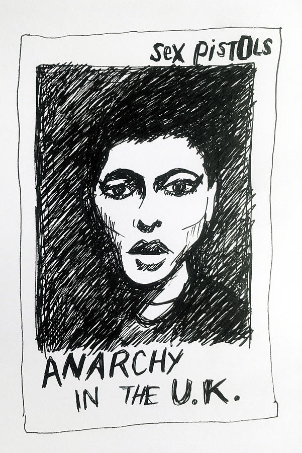 Sex Pistols Anarchy 1976  Drawing Drawing