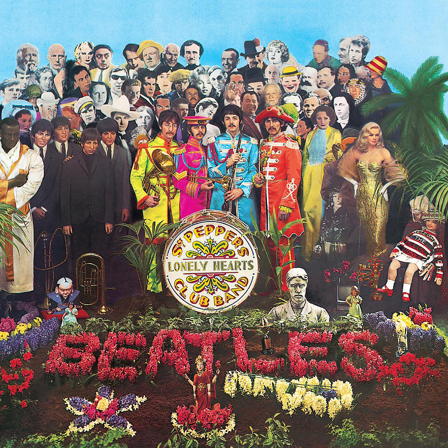 The Beatles Digital Art - Sgt. Peppers Lonely Hearts Club Band by The Beatles by Music N Film Prints