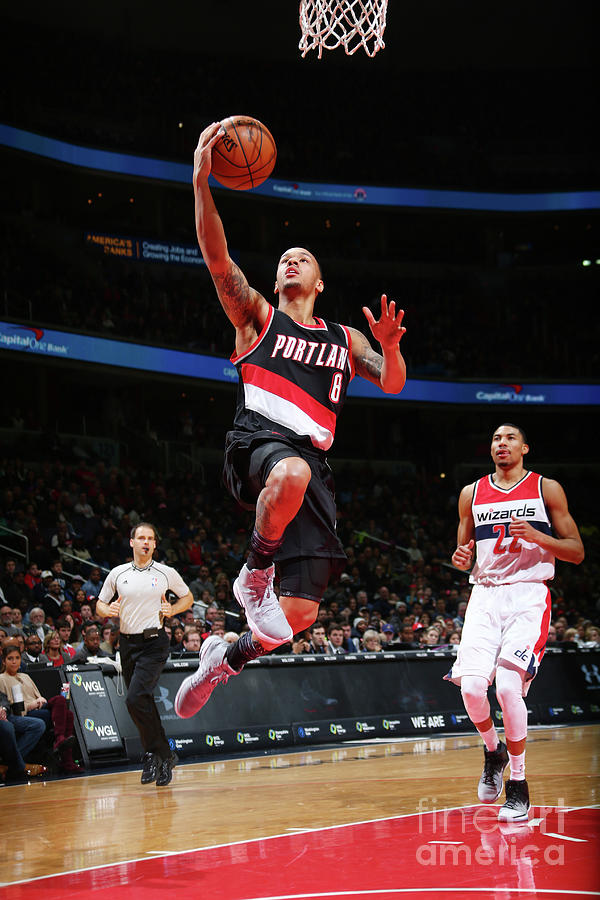 Shabazz Napier Photograph by Ned Dishman