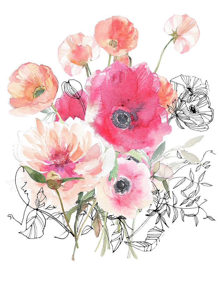 Shades Of Pink Painting