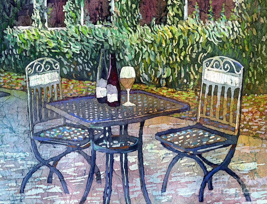 Shades Of Van Gogh-wine Table Painting