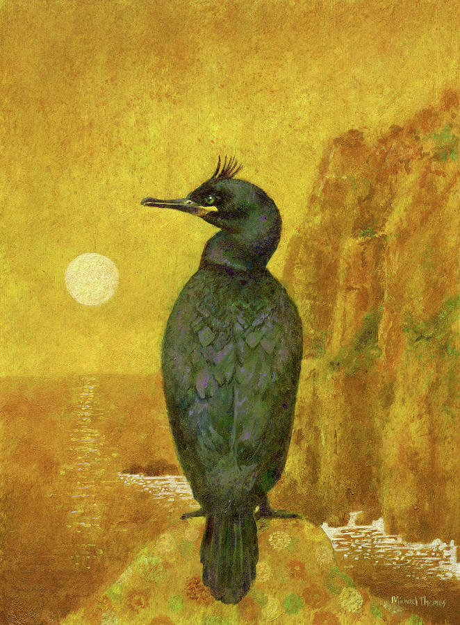 Shag On Gold Painting