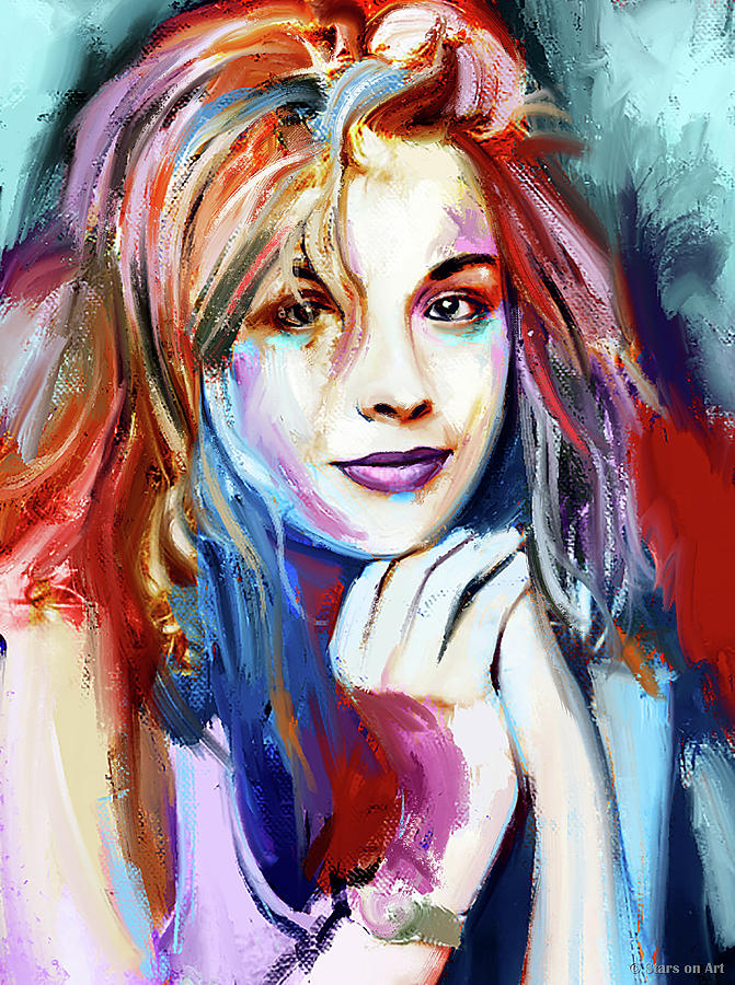 Sharon Stone Painting
