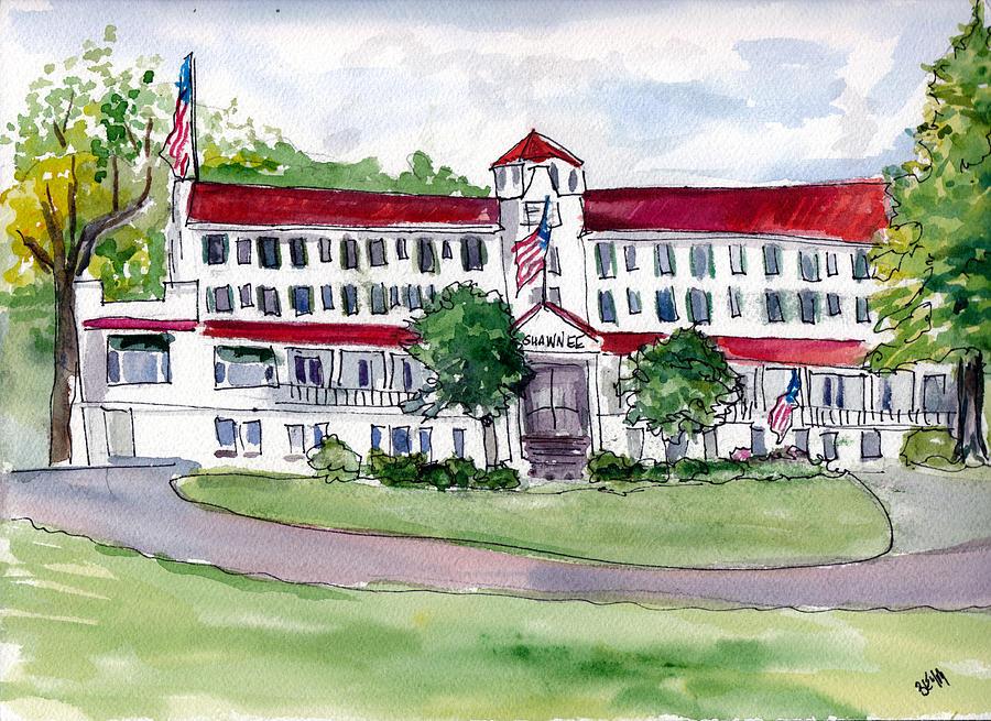 Shawnee Inn, PA by Clara Sue Beym