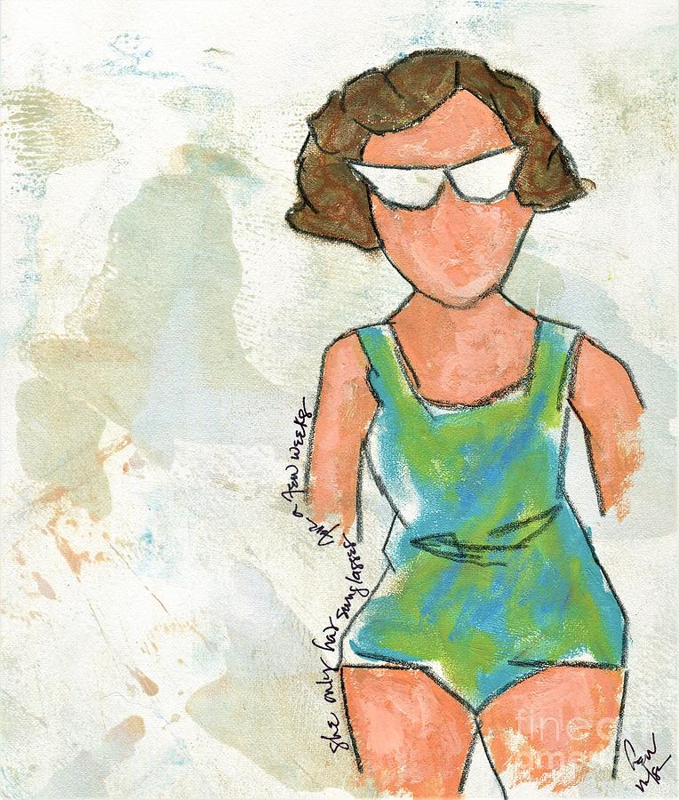 she only had sunglasses for a few weeks by Hew Wilson