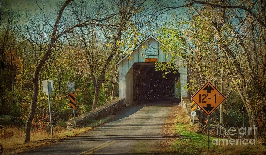 Sheard's Mill Covered Bridge by Debra Fedchin