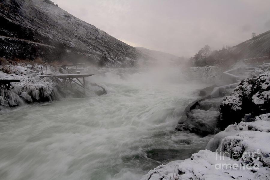 Deschutes River Photograph - Shears Falls by Gary Wing
