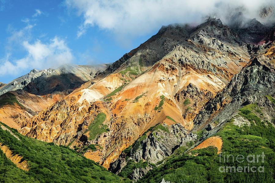 Sheep Mountain, Alaska by Lyl Dil Creations