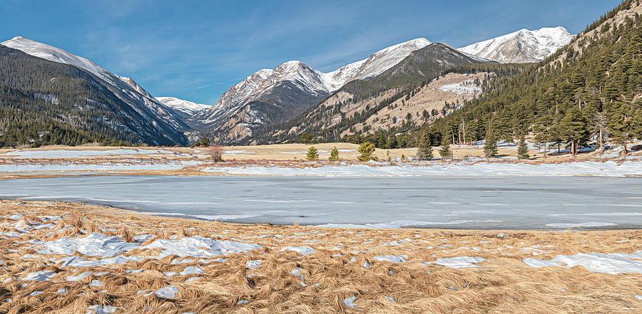 Sheeps Lake, Rocky Mountain National Park by Marcy Wielfaert