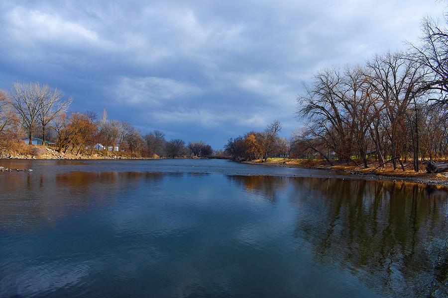 Shell Rock River In Greene Iowa Photograph