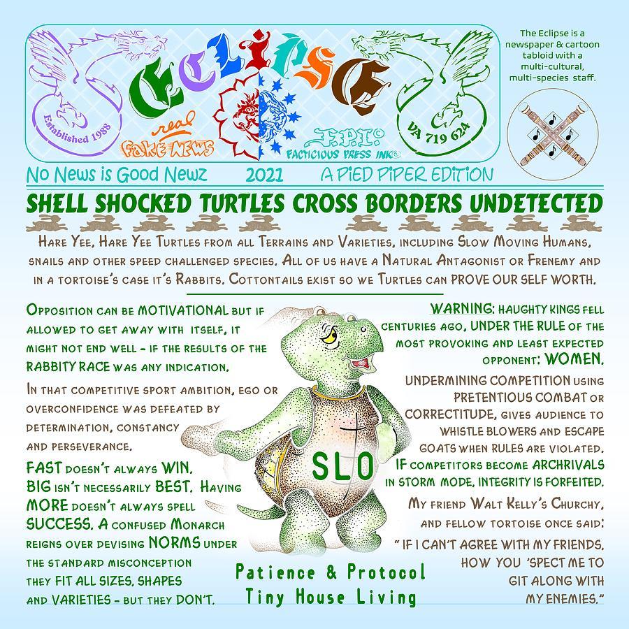 Shell Shocked Mixed Media