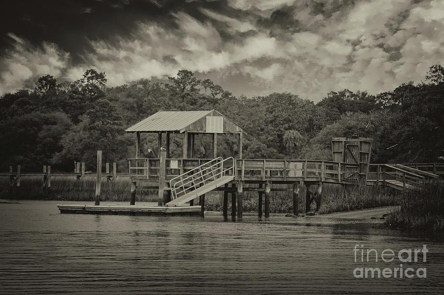 Shem Creek Dockside - Mt. Pleasant South Carolina Photograph