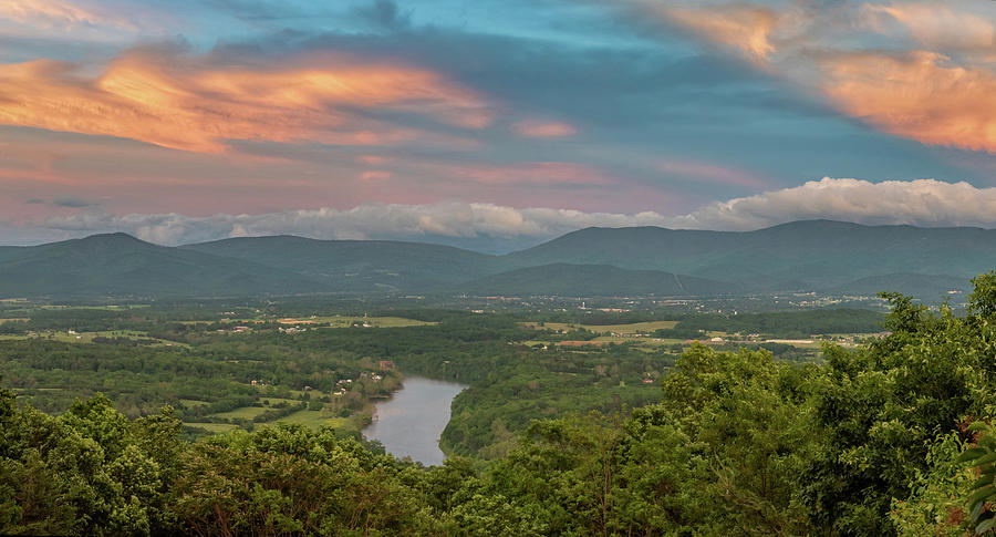 Shenandoah Valley Spring Sunset 2020 Photograph