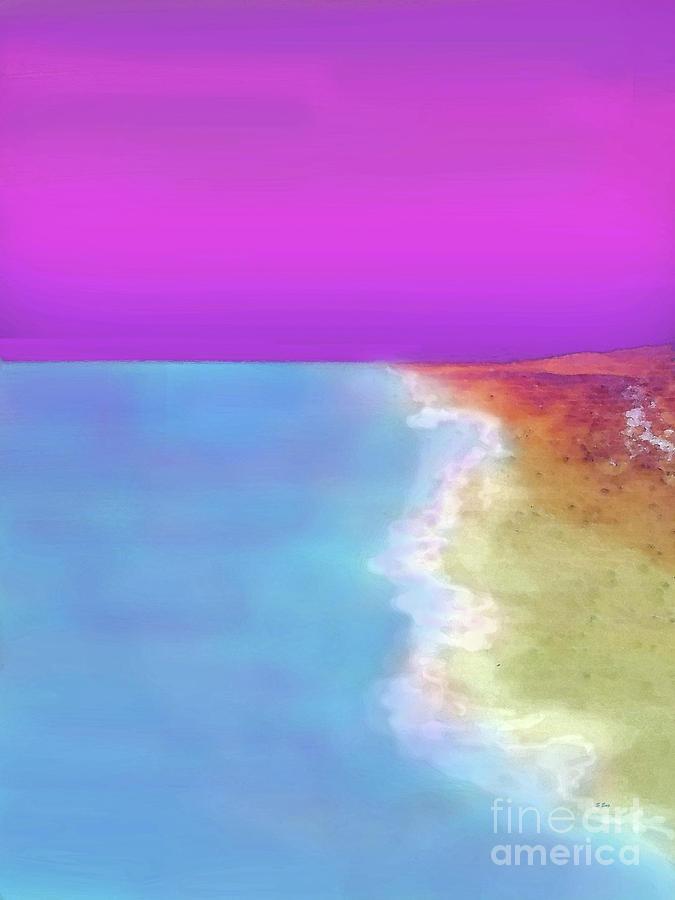 Sherbert Sky 300 Painting