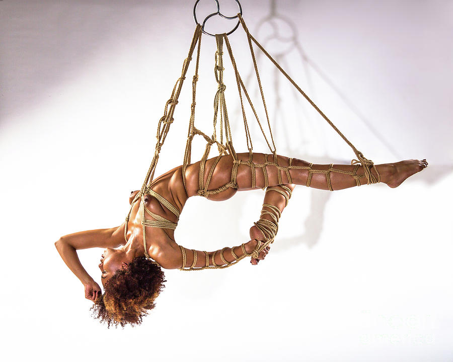 Shibari Art of Suspension I Photograph by Performance