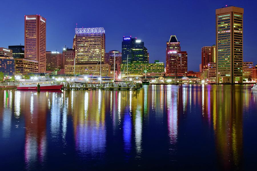 Shimmer And Shine In Baltimore Photograph