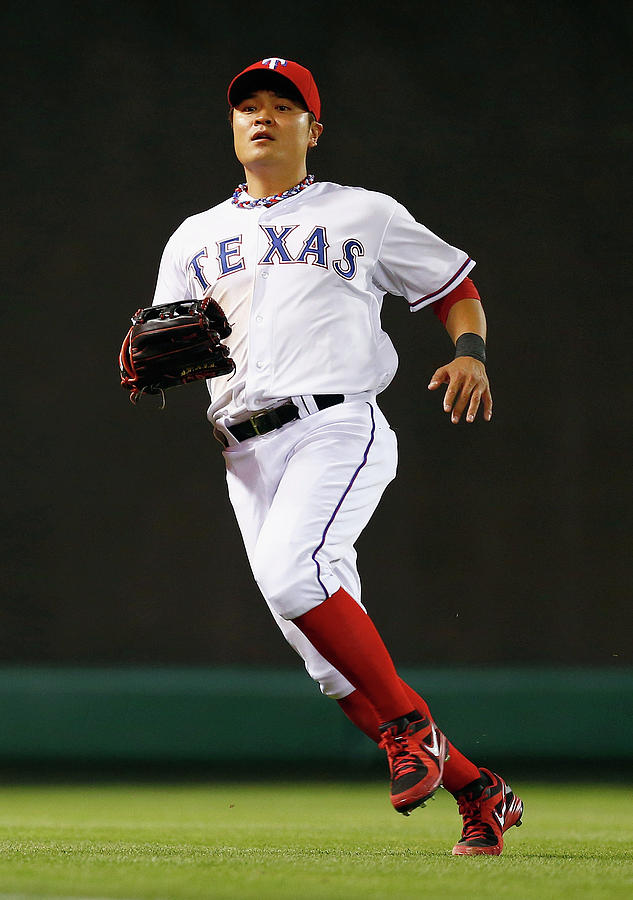 Shin-soo Choo Photograph by Tom Pennington