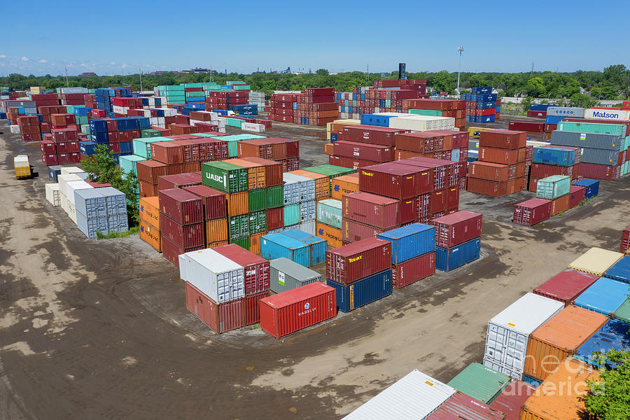 Shipping Containers Photograph
