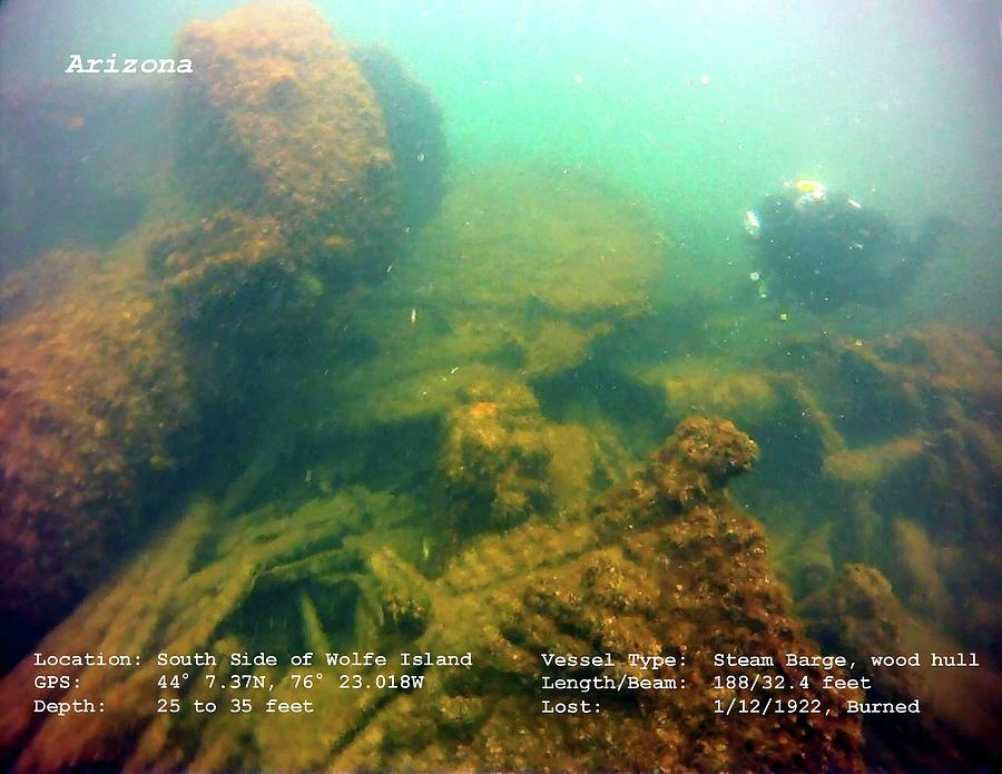 Shipwreck Arizona Photograph