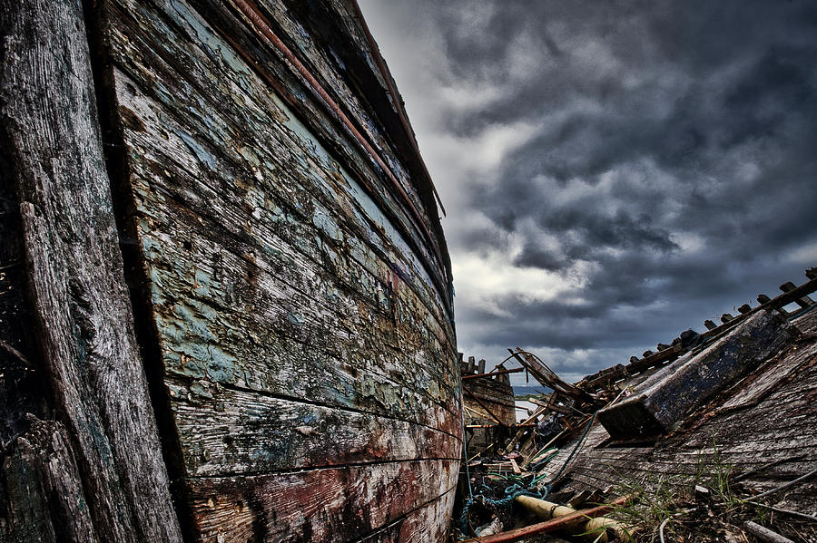 Shipwrecks On The Isle Of Mull #4 - Scotland by Stuart Litoff