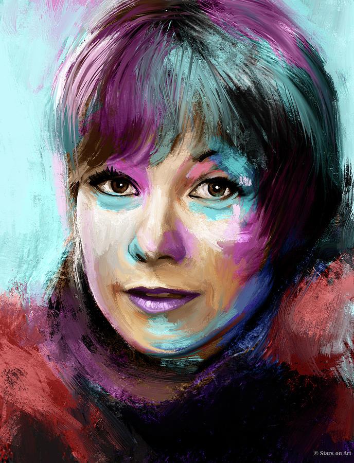 Shirley Maclaine Painting